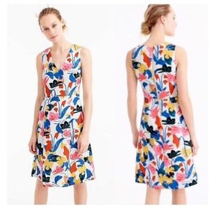 J.crew A-line dress in morning floral 00